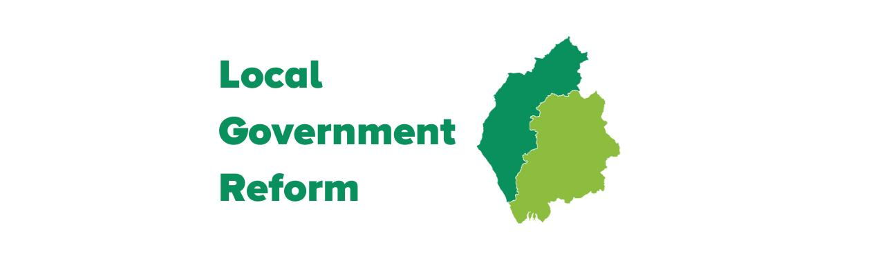 Local Government Reform Consultation